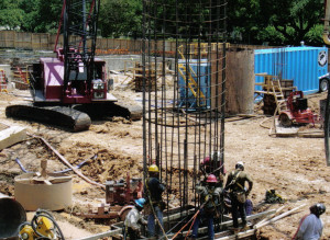 Foundation Drilling Pictures for Commercial Projects