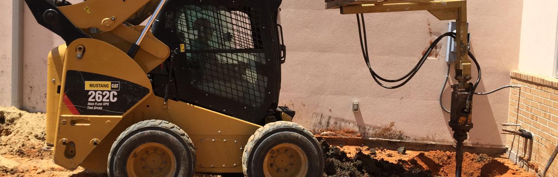 mustang-cat-foundation-driller